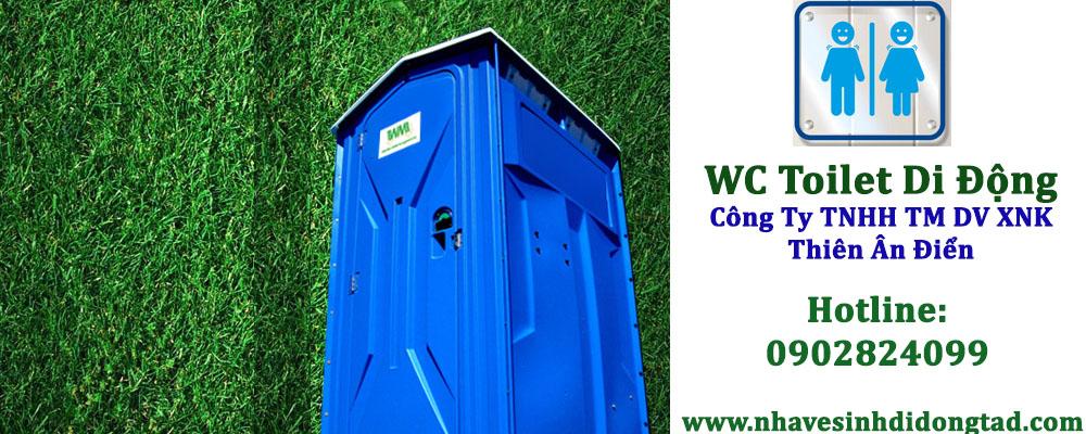 Nhà vệ sinh di động wc toilet
